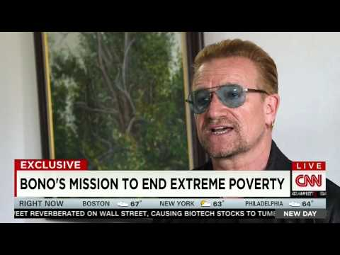 CNN features work of Senator Coons, Bono, and the ONE Campaign in Africa