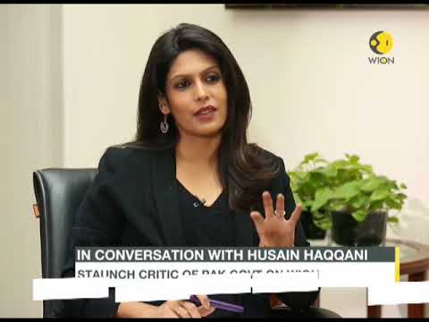 Staunch critic of Pak govt on WION: In conversation with with Husain Haqqani