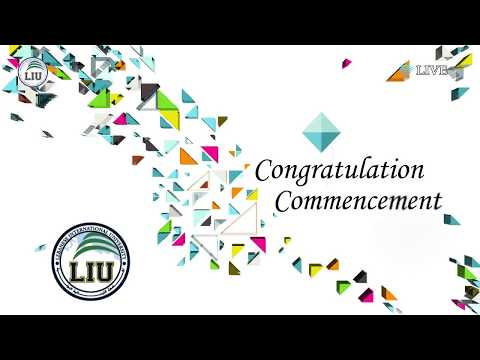 LEBANESE INTERNATIONAL UNIVERSITY graduation ceremony Mount Lebanon Campus 2017
