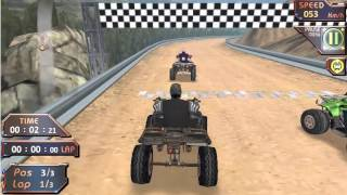 Extreme ATV Offroad Race Gameplay