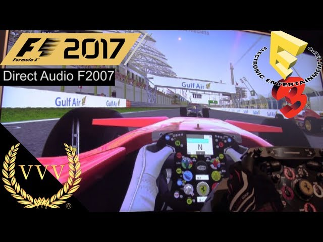 F1 2017 - Direct Audio 2007 Ferrari