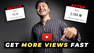 How To Get M๐re Views on YouTube (2021) | My Secret Strategy (100% Working)