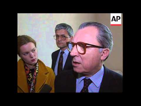 FRANCE: FRANCOIS MITTERRAND'S LAST DAY IN OFFICE