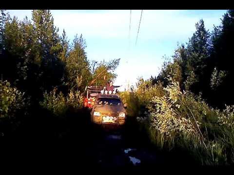 MITSUBISHI L200 OLD На заднем приводе по болоту