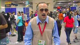 Fake Stan Lee vs. Real Stan Lee (Comic Con 2010)