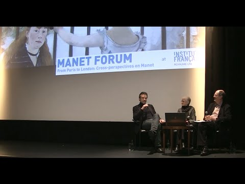 Manet forum at the French Institute UK (2013)