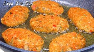 КОТЛЕТЫ ИЗ БАКЛАЖАНОВ даже вкуснее мясных Сочные и нежные Блюдо из овощей Люда Изи Кук котлеты