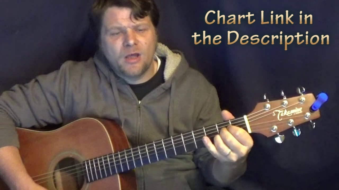 Living On Love Alan Jackson Guitar Cover And Chord Chart Youtube