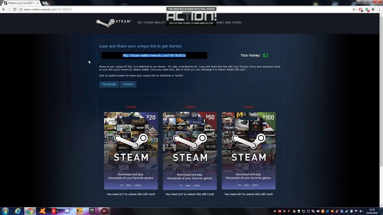 comment ajouter de largent sur steam gratuitement