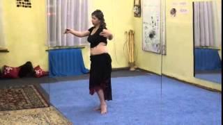 """Школа Восточного танца """"Елея"""". Урок #4. Связка в танце."""