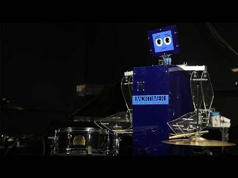 Jam with Mortimer the Drumming Robot at Ri Lates