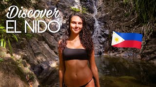 DISCOVER EL NIDO 🇵🇭 JUNGLE WATERFALL (PHILIPPINES)