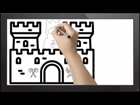Medieval Castle Animation