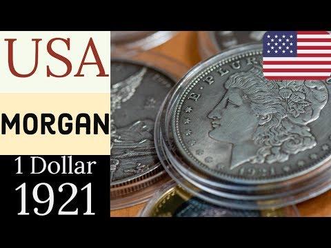 [4K UHD] ¿Sabías Estos Detalles Del Famoso Dolar Morgan De Plata De EEUU - 1921?