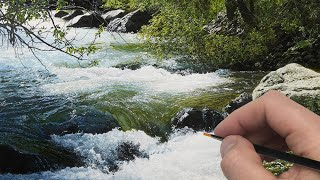 Painting This Rushing River | Time Lapse | Episode 199