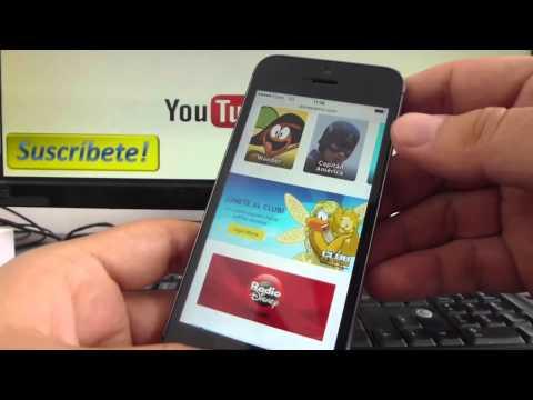 Cómo hacer una captura de pantalla en el iPhone 5S 5C 5 4S 4 español Channeliphone