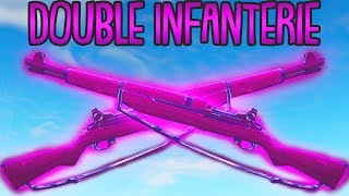 DOUBLE INFANTERIEGEWEHR TRICK! | (sehr stark...) | Fortnite Battle Royale