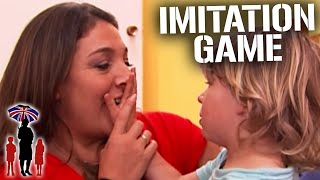 Kid with Speech Delay Disorder Gets Frustrated and Aggressive | Supernanny