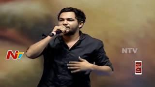Hiphop Tamizha Live Performance Rap I Wanna Fly Song Krishnarjuna Yuddham