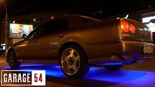 как сделать неоновую подсветку на машину