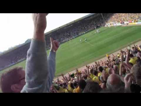 Radio Norfolk in sync with fan's video. Norwich 3 Derby 2