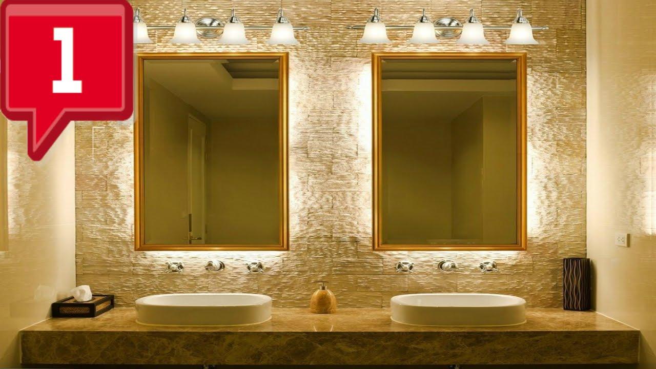 Cool bathroom light fixtures Ideas - YouTube