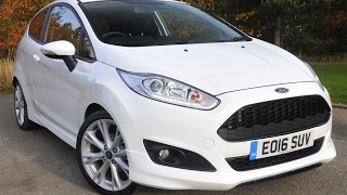 Used Ford Fiesta 1.5 TDCi Zetec S 3dr Frozen White 2016