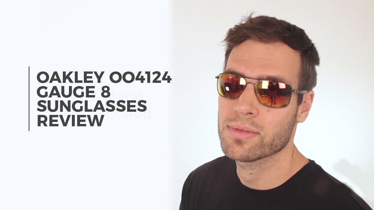 Oakley Gauge 8 >> Oakley Oo4124 Gauge 8 Sunglasses Review Visiondirect