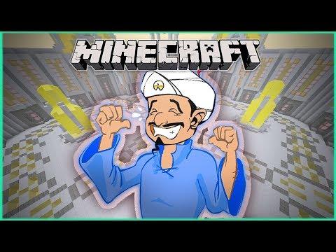 المارد الأزرق ( أكيناتور ) في ماين كرافت - مستحيل ينهزم !! 😱 💔