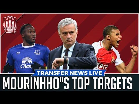 Jose Mourinho's Manchester United Transfer Targets REVEALED!