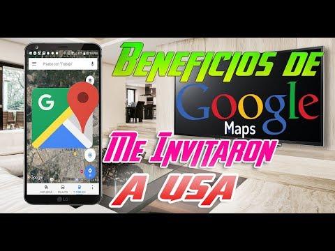 Google maps me invita a USA siendo local guide 2017