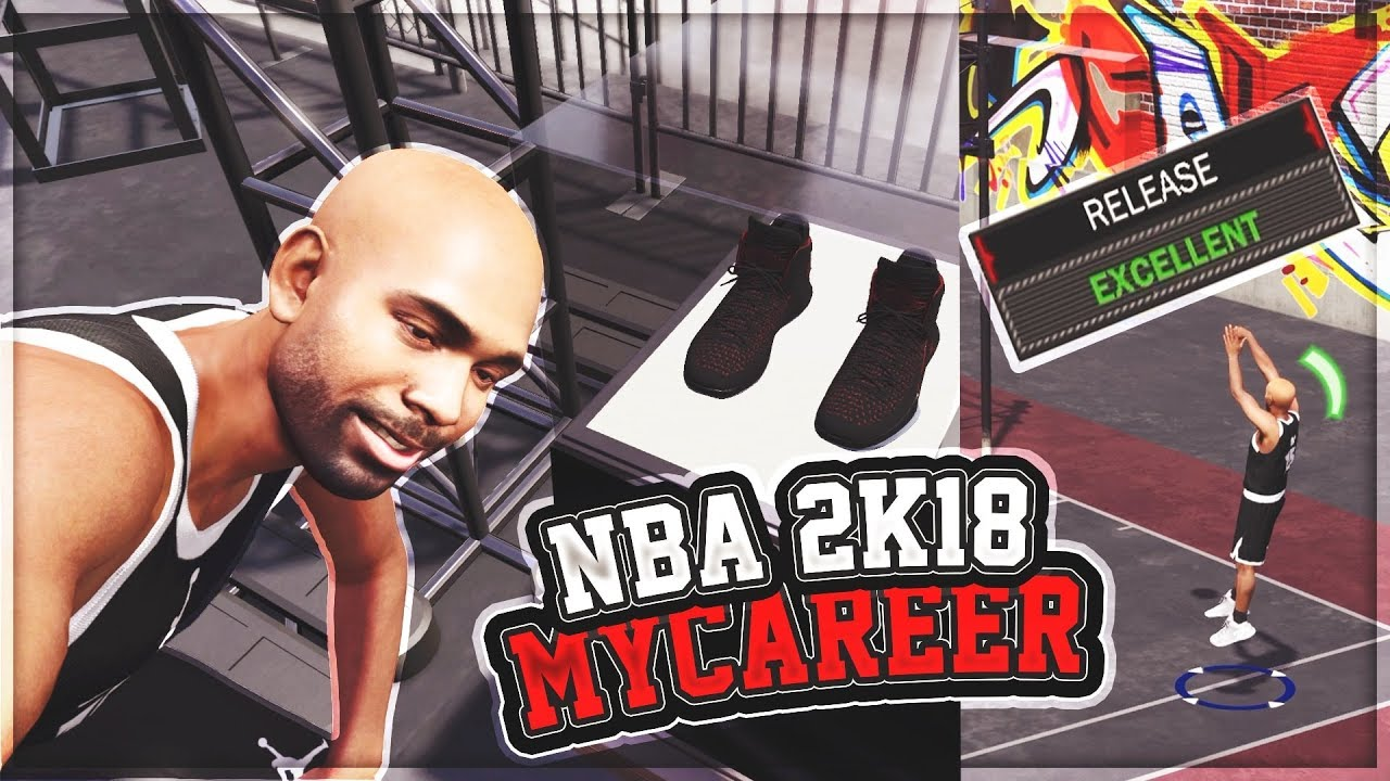 NBA 2K18 MyCAREER - BEST JUMPSHOT FOR ALL ARCHETYPES! Free Jordan Shoe Ep.  2 (PS4 Pro Gameplay). iPodKingCarter