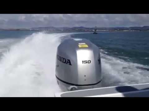 twin HONDA BF150 outboards 150 4 stroke