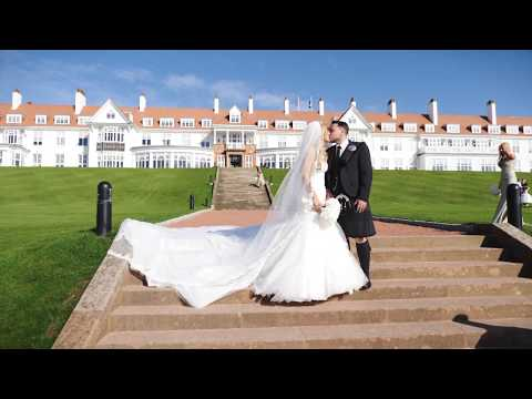 Trump Turnberry Wedding Video - Sarah and Gary - Ayrshire Wedding