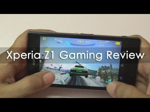 Sony Xperia Z1 Gaming Review & Benchmarks