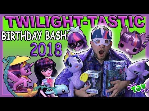 Princess Twilight Sparkle Birthday Bash 2018! | Bins Toy Bin