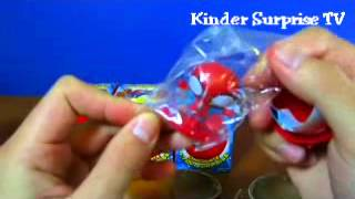 Kids Ultimate Spider Man Chocolate Fun Surprise Eggs Full Movie Episode 2014