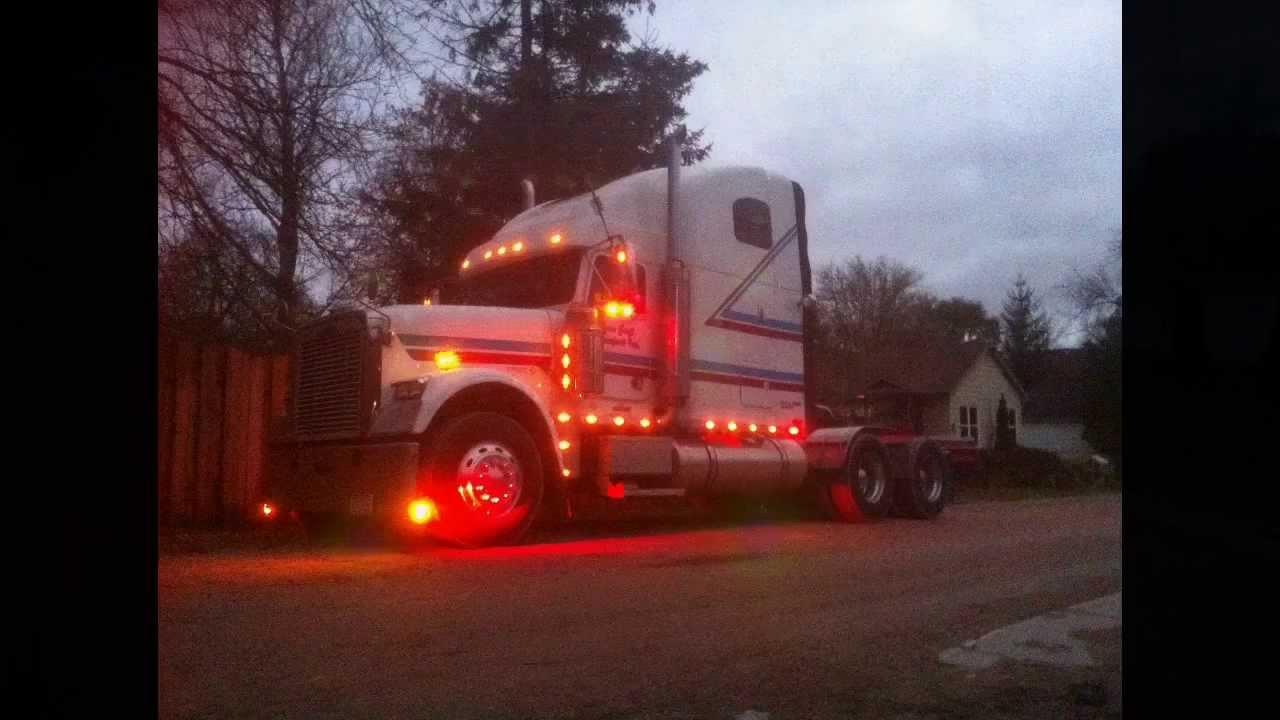 Custom Freightliner Classic Tour Youtube