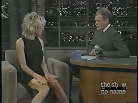 Farrah Fawcett Drugged on Letterman 1 of 2
