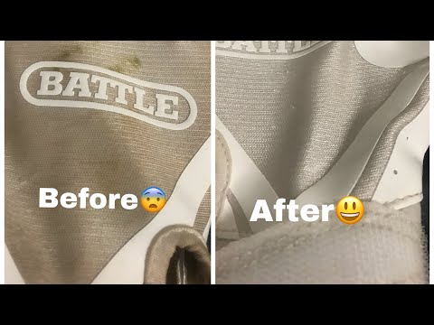 How to clean battle football gloves (must watch)