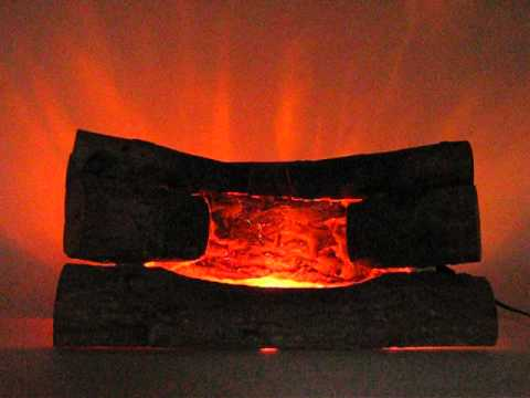 Crackling Glowing Embers Electric Fireplace Logs Youtube