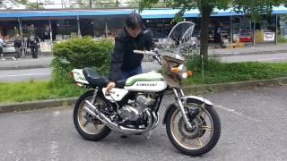 250SS  kawasaki    爆竹  トライスターズ   鉄サイレンサー  mach  KH25