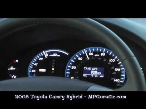 2008 toyota camry hybrid 0 60 mph youtube. Black Bedroom Furniture Sets. Home Design Ideas