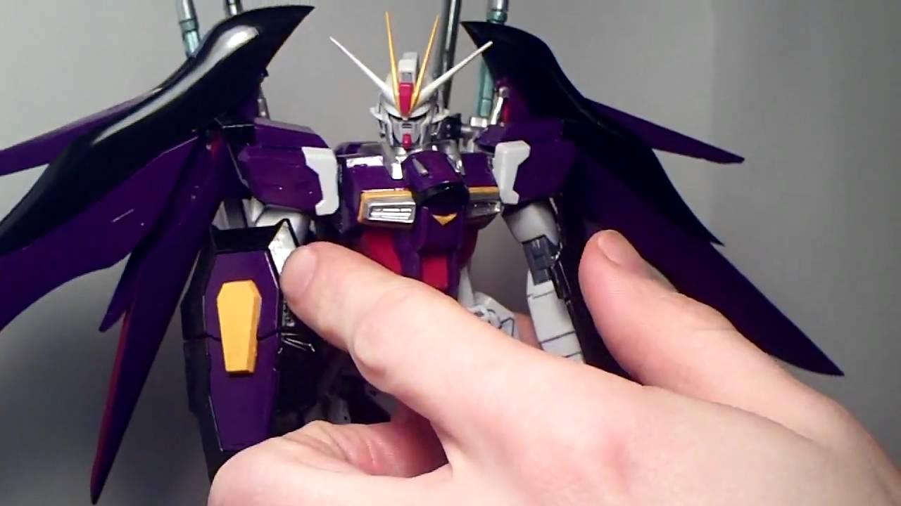 1 100 Mg Destiny Impulse Gundam Tt Hongli Custom Review Youtube Rx78 2 Verka 114215