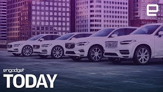 Volvo pledges to be all electric or hybrid in two years | Engadget Today