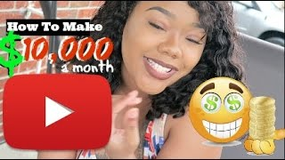 5 Best Tips To Make $10,000 A Month On Youtube + Amazon Gift Card Codes Giveaway