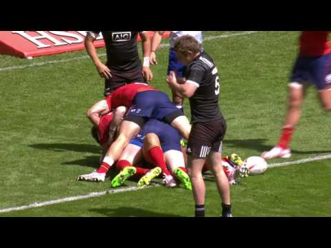Scotland beat NZ for first time ever in EPIC comeback - HSBC London Sevens