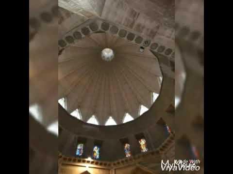 VISITING NAZARETH ISRAEL/ BASILICA CHURCH OF ANNUNCIATION