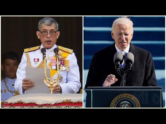พระราชสาส์นแสดงความยินดี ไปยังนายโจ ไบเดน ในโอกาสสาบานตนเข้ารับตำแหน่ง ประธานาธิบดีแห่งสหรัฐอเมริกา