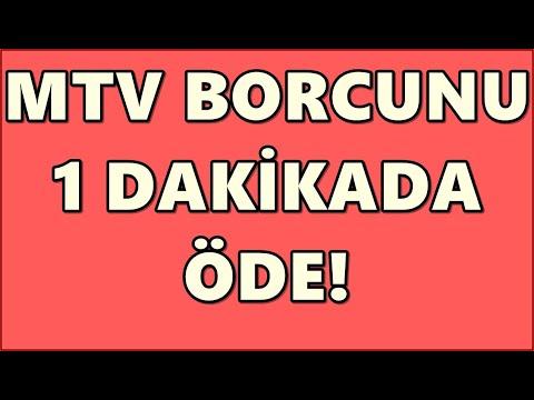 Ziraat Bankası MTV Sorgulama ve Ödeme (İnternetten)